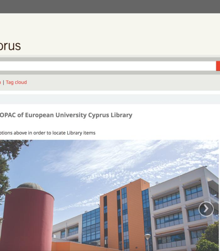 European University Cyprus Library